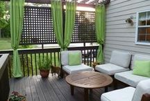 outdoor space ideas / by Dena Kelley