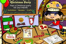 Christmas Party Ideas - Santa's Favorites / Looking for ways to add a little something extra into your next Christmas party? This is the place! Claus.com has tons of ideas for food and decorations to spruce up your Christmas get-together.