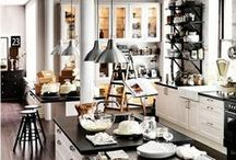 Kitchen Inspiration / A beautiful kitchen is a luxury. From the extravagant to the most simple country kitchen, anywhere there is cooking passion there will be a great kitchen.