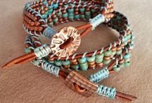 a B.E.A.D.S : Bracelets: Wrapped/Leather . Braided . Metal / by Kim Reed