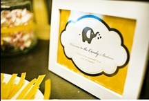 Baby Showers / Themes, gifts, decor for baby showers.  / by Katy Selzer