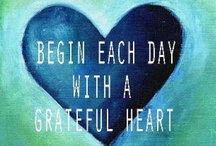 Seeds of Gratitute / Gratitude is the one thing I return to when I feel 'lost' or when I've grown hard of hearing the divine whispering sweet nothings in my ears.  Gratitude is where I find peace, connection and an infinite supply of evidence that every prayer I'm giving is being answered.