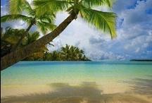 Beaches / the ocean, beach, coast, sand, surf, blue water