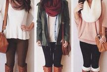 Fall & Winter Clothing / Chilly weather fashion - from leaf looking to petting polar bears :)