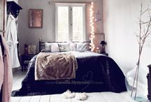 HOME: bedrooms / by Haleigh Byers