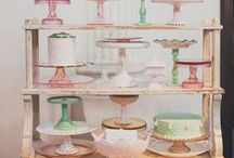 Cake Stand Obsession / Cake stands turns the simple serving of a cake to a luxury.