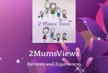 About us. / We finally started a blog.   www.2mumsviews.com  email: 2mumsviews@gmail.com