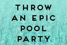 Summer pool party bash