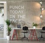 coworking / A board of people coworking in amazing spaces.