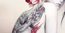 Cool Tattoos / Don't want it on me, but still Looks awesome on others ^^