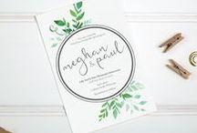 Eilyk Papery Designs / Bespoke invitation designs by Eilyk Papery.  #invitations #weddingstationery #weddings