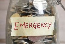 Emergency Fund / Emergency savings, rainy day fund, sinking fund, unexpected expenses, savings account