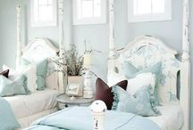 Bedrooms / Decor, Color, Furniture,Accessories / by Cathy Donaldson