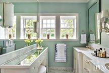 Bathrooms / Cottage,Modern / by Cathy Donaldson