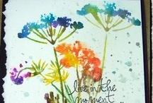 Cards: Distress, Watercolor