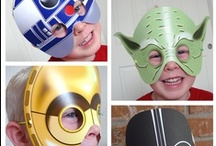 STAR WARS / Find fun and inspiring crafts, party ideas or even room decor for those young Star Wars fans!