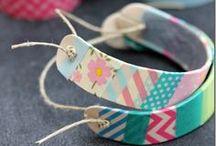 WASHI TAPE CRAFTS / Crafting ideas for washi tape and masking tape.