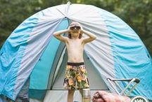 CAMPING WITH KIDS / Camping can be a big chore...so find ways to make your life easier...especially when camping with kids!