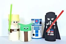 CARDBOARD TUBE CRAFTS / Don't throw away your toilet paper and paper towel tubes.  Here's lots of fun ways to use these cardboard tubes!
