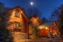 New Cabins! / new cabins, cabin rentals, blue sky cabin rentals, mountain views, vacations, rentals, cabins, getaway, rustic cabins, log cabins, Ellijay, Blue Ridge, Beautiful North GA Mountains, Cartecay River, Apple Festival
