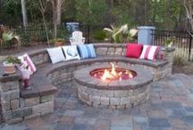 Back Yard Ideas / Firepits and things... / by Melissa Christie-Webb