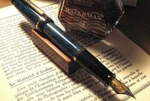 The Writer's Studio ~ Tools of the Craft / Weapons of mass creation!  #Writing #Journals & #Pens :) / by Belinda Witzenhausen