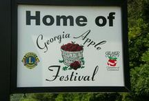 Georgia Apple Festival  / This annual festival is the largest in Georgia! With over 300 vendors!