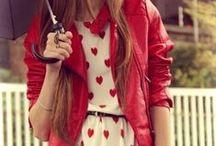 REDvolution / red fashion / by Courtney Scarbin