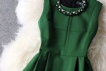 Green With Envy / green fashion / by Courtney Scarbin