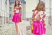 Pretty in Pink / pink fashion / by Courtney Scarbin