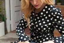 Dot Dot Dot / polka dot fashion / by Courtney Scarbin