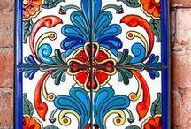 Mexican Talavera Tiles / A collection of Talavera Tiles and Mexican Tile images.