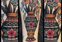 Ink Pottery / Pottery tattoos / by Kristen Kieffer Ceramics