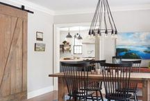 This Old House - North Shore Farmhouse; Dining Room / Sharing a bit of our design process behind the scenes on the This Old House North Shore Farmhouse project we did the interior design + decorating for!
