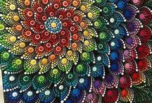 Creativity ~ Mandalas & Zentangles / #mandala & #zentangle designs