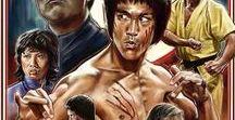 #Bruce Lee, #Shô Kosugi in #Revenge of the #Ninja.#Steven Seagal. / #Martial Arts.