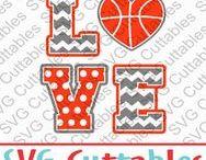 Basketball svg cut files / Basketball cut files svg, eps, dxf, png, Silhouette Cameo, Silhouette, Cricut, Cricut Design Space, svg cutting files, vectors, templates, svg cuttables, vinyl cutter, decals, t-shirt designs, svg cut files