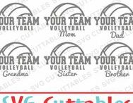 Volleyball svg cut files / Volleyball cut files svg, eps, dxf, png, Silhouette Cameo, Silhouette, Cricut, Cricut Design Space, svg cutting files, vectors, templates, svg cuttables, vinyl cutter, decals, t-shirt designs, svg cut files