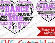 Dance svg cut files / Dance cut files svg, eps, dxf, png, Silhouette Cameo, Silhouette, Cricut, Cricut Design Space, svg cutting files, vectors, templates, svg cuttables, vinyl cutter, decals, t-shirt designs, svg cut files