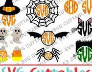 Halloween svg cut files / Halloween cut files svg, eps, dxf, png, Silhouette Cameo, Silhouette, Cricut, Cricut Design Space, svg cutting files, vectors, templates, svg cuttables, vinyl cutter, decals, t-shirt designs, svg cut files
