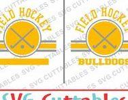 Field Hockey svg cut files / Field Hockey cut files svg, eps, dxf, png, Silhouette Cameo, Silhouette, Cricut, Cricut Design Space, svg cutting files, vectors, templates, svg cuttables, vinyl cutter, decals, t-shirt designs, svg cut files