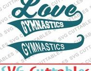 Gymnastics svg cut files / Gymnastics cut files svg, eps, dxf, png, Silhouette Cameo, Silhouette, Cricut, Cricut Design Space, svg cutting files, vectors, templates, svg cuttables, vinyl cutter, decals, t-shirt designs, svg cut files