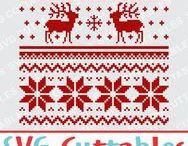 Christmas svg cut files / Christmas cut files svg, eps, dxf, png, Silhouette Cameo, Silhouette, Cricut, Cricut Design Space, svg cutting files, vectors, templates, svg cuttables, vinyl cutter, decals, t-shirt designs, svg cut files