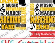 Band svg cut files / Band cut files svg, eps, dxf, png, Silhouette Cameo, Silhouette, Cricut, Cricut Design Space, svg cutting files, vectors, templates, svg cuttables, vinyl cutter, decals, t-shirt designs, svg cut files