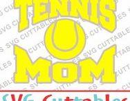 Tennis svg cut files / Tennis cut files for cutting machines like silhouette Cameo or Cricut.