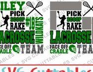 Lacrosse svg cut files / Lacrosse cut files for cutting machines like silhouette Cameo or Cricut.