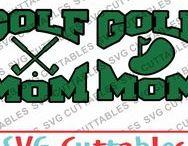 Golf svg cut files / Golf cut files for cutting machines like silhouette Cameo or Cricut.