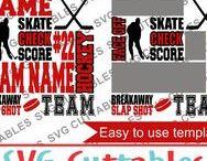 Hockey svg cut files / Hockey cut files for cutting machines like silhouette Cameo or Cricut.