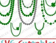 St. Patrick's Day svg cut files / St. Patrick's Day cut files for cutting machines like silhouette Cameo or Cricut.