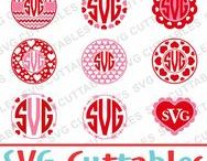 Valentines Day svg cut files / Valentines cut files for cutting machines like silhouette Cameo or Cricut.